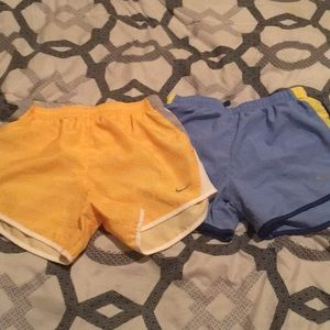 EUC Girls Size Medium Nike Dry Fit Shorts Lot